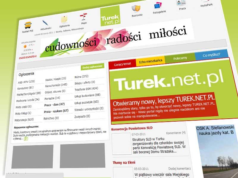 Otwieramy nowy, lepszy TUREK.NET.PL