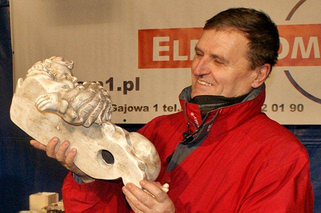 Jubileuszowo i rekordowo - Kpt. Tadeusz Wrona wraz z aniołkiem z Przystani