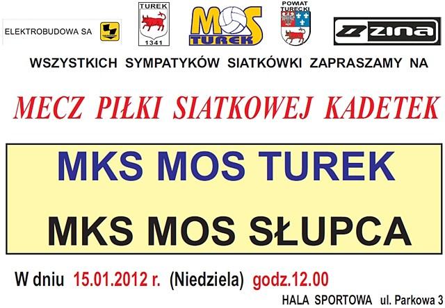 MOS Turek vs MOS Słupca