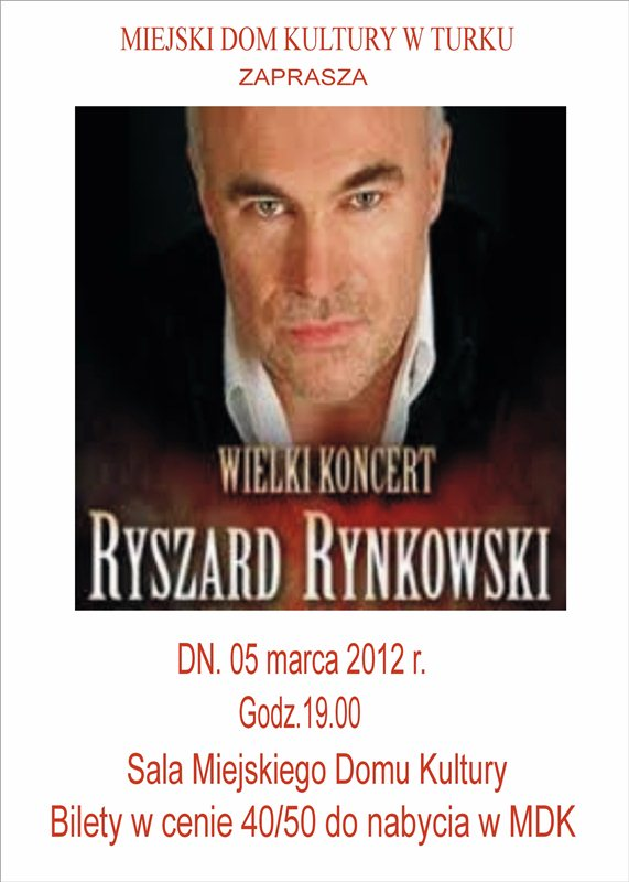 Komu bilety na Rynkowskiego?