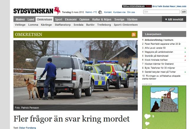 Co dalej ze szwedzkim śledztwem? - Źródło: sydsvenskan.se