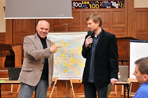 Humor, geografia i gwiazda TVN