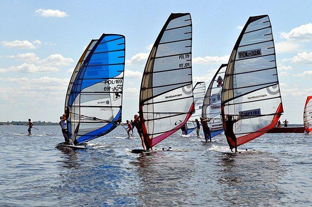 Windsurfing w powiecie tureckim