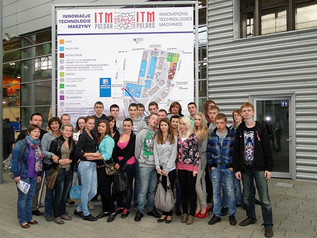 Uczniowie ZST w Turku zwiedzili targi ITM Polska