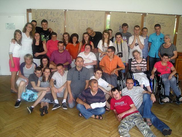 Gdyńskie wczaso-rekolekcje wspólnoty integracyjnej Caritas / Sebastian Jafra