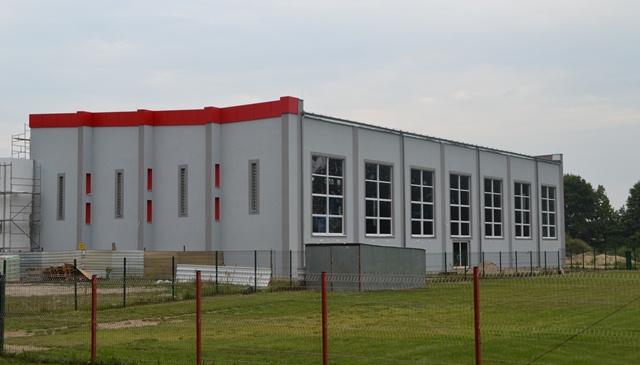 Budowa sali sportowej na ostatniej prostej