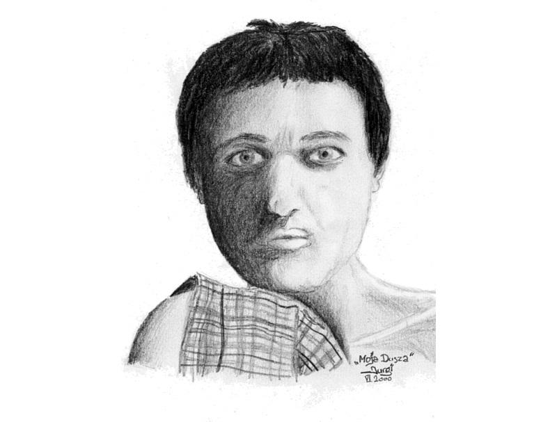 Nie umiera ten, kto żyje w pamięci innych/W rocznicę śmierci Jurgiego - Autoportret / Źródło: archiwum prywatne przyjaciół Jurgiego