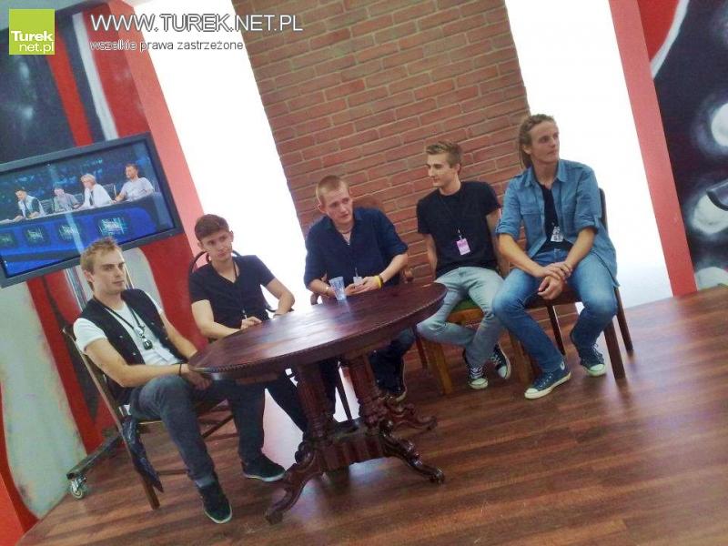 MileStone chce zagrać u Wojewódzkiego/Zagłosuj na dobre, rockowe granie! - Zespół podczas nagrania do Must Be The Music