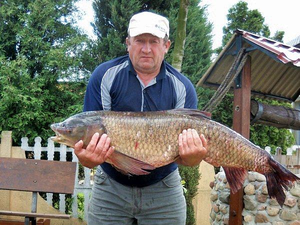 Rybny gigant wyłowiony