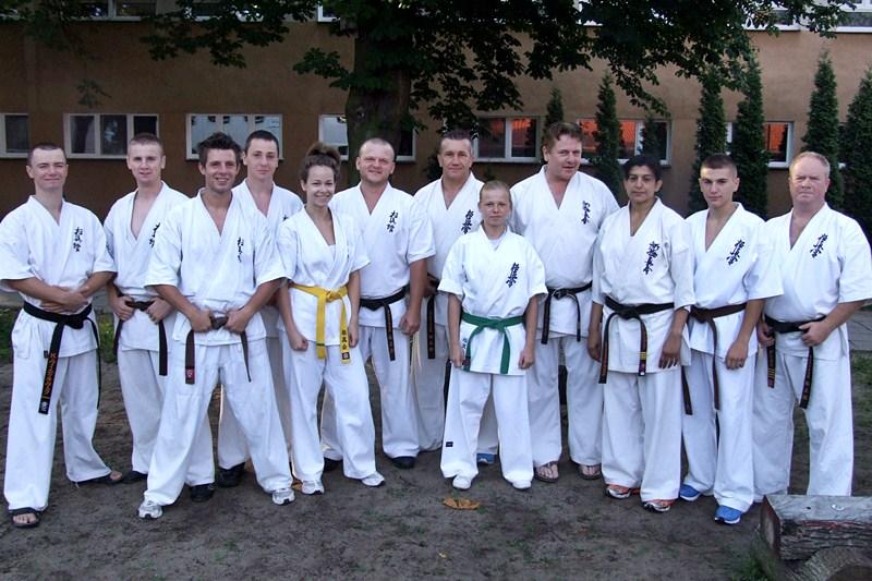 Obóz letni Kyokushin Karate - Tuchola 2012/Tomasz Nowaczyk