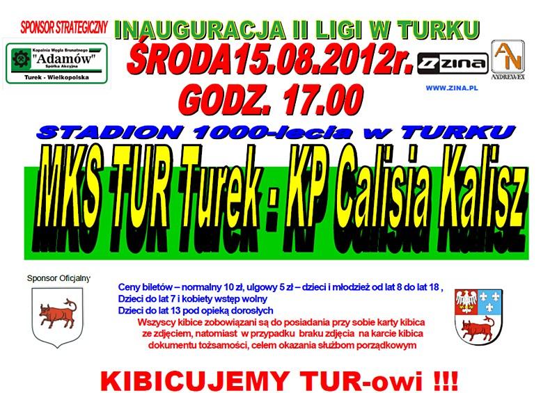Inauguracja II Ligi: TUR vs Calisia
