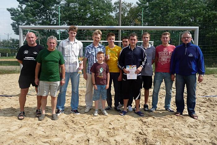 Triumf Bibianny w turnieju beach soccera