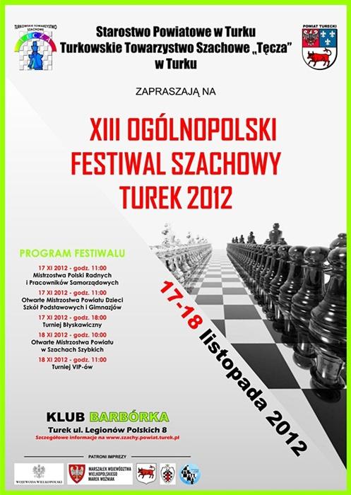 XIII Ogólnopolski Festiwal Szachowy już w ten weekend