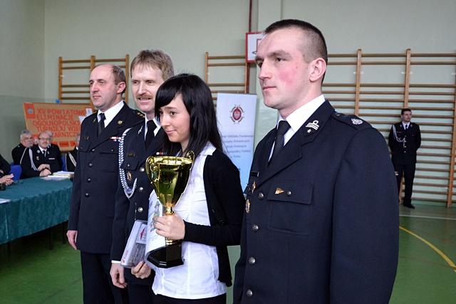Ukazali pracę strażaków i otrzymali nagrody