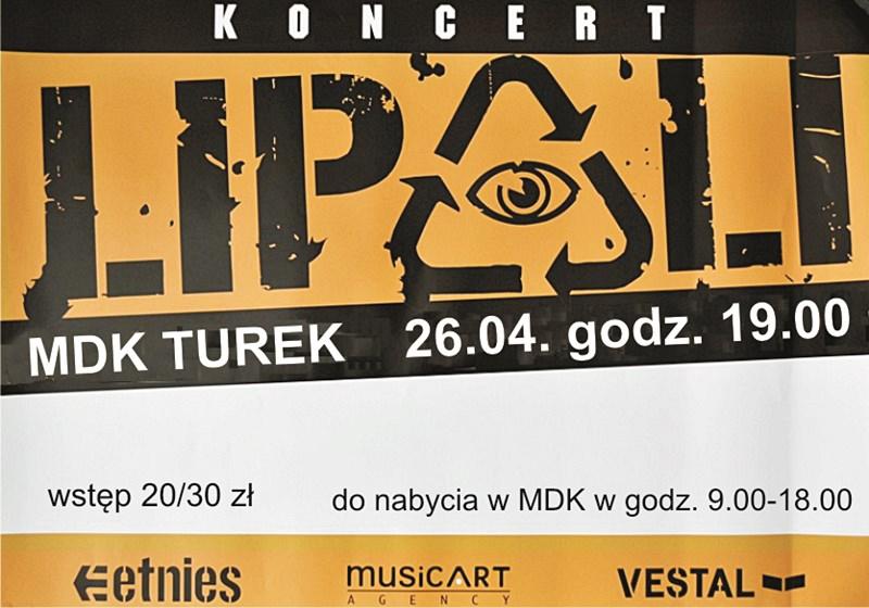 Lipali zagra w Turku