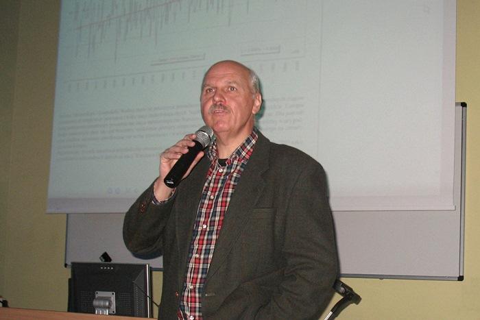 Wizyta Tomasza Zubilewicza w ZST w Turku