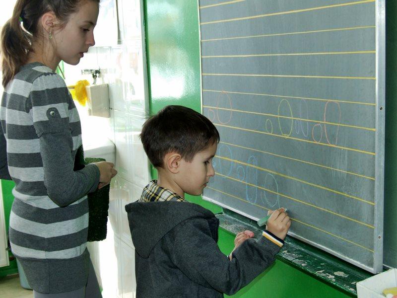 Pięciolatki z wizytą w SP Cisew