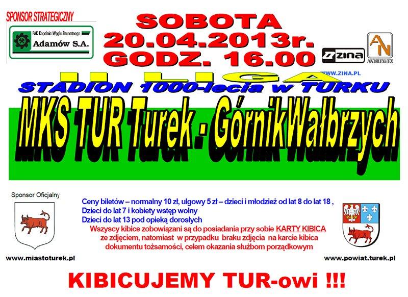 MKS TUR Turek vs. Górnik Wałbrzych