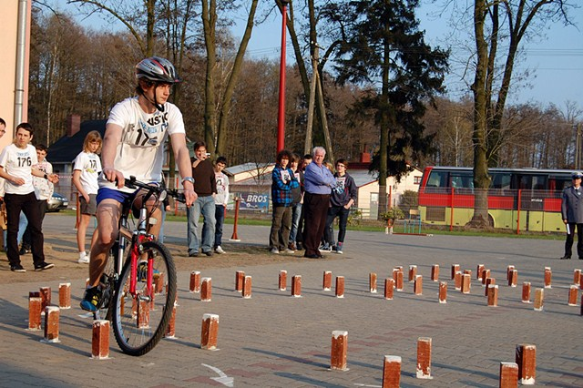 Bezpieczni na rowerach