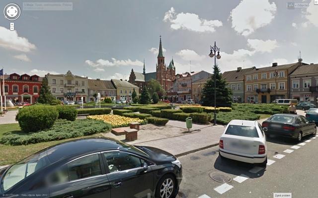 Zrób sobie wirtualny spacer po Turku i powiecie! - Źródło: maps.google.pl