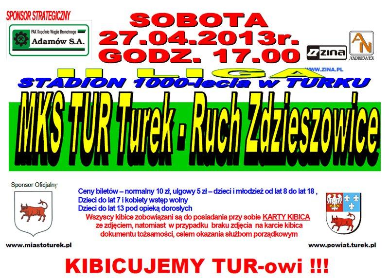 MKS TUR Turek vs. Ruch Zdzieszowice