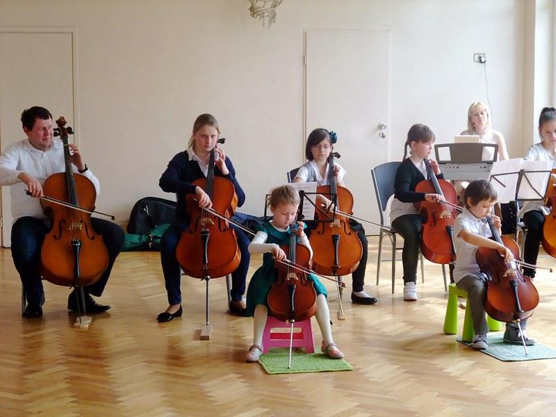 Wiolonczeliści czarowali dźwiękiem