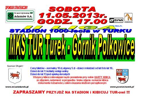 MKS TUR Turek vs. Górnik Polkowice