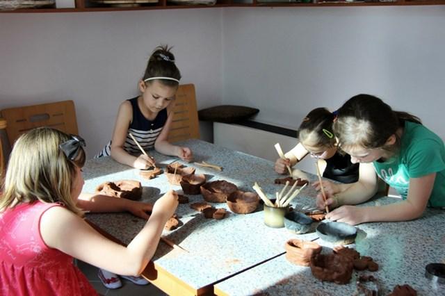 Pracownia ceramiki w muzeum