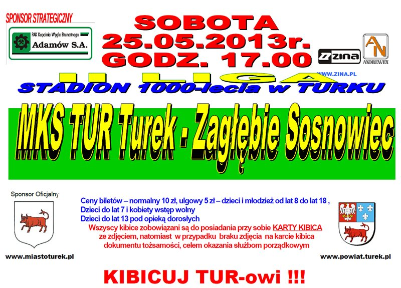 MKS TUR Turek vs Zagłębie Sosnowiec