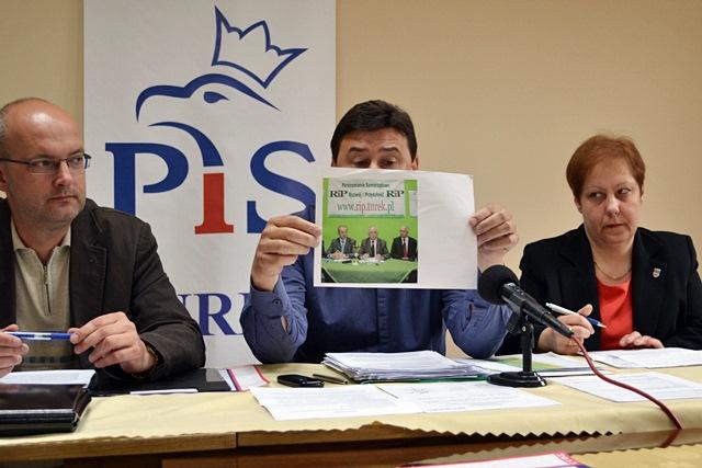 PiS piętnuje kretynizm w powiecie