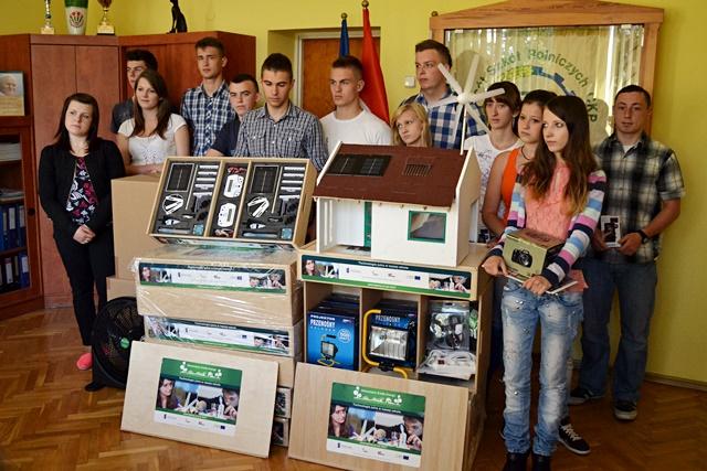 Eko-sukcesy uczniów ZSR CKP