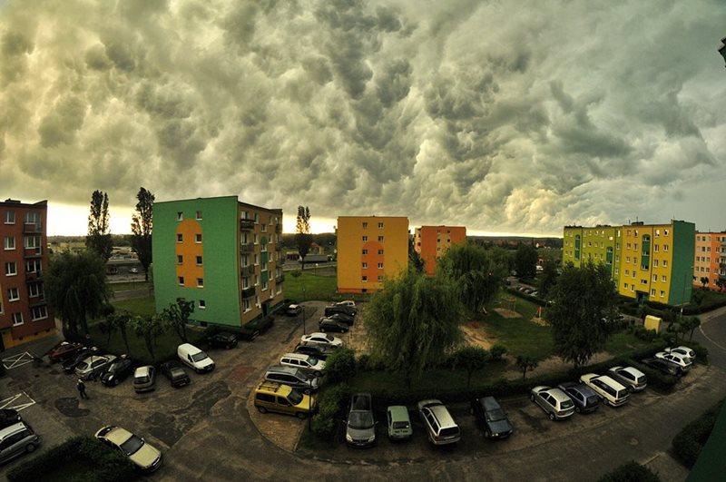 Nawałnica szalała nad powiatem - Fot. M. Derucki