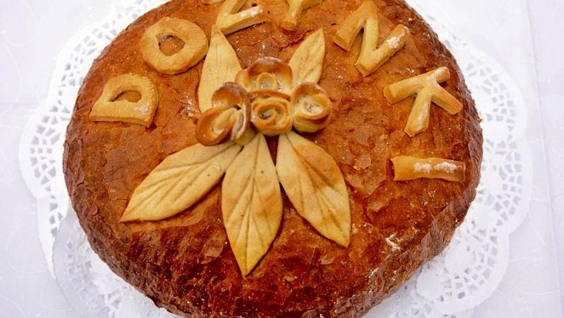 Chleb  symbol  życia/ A. Burszewski - Foto: M. Derucki