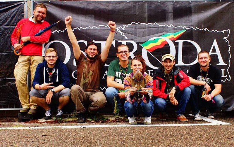 Big Up! najlepszy na Ostróda Reggae Festiwal 2013 - Zespół BIG UP! Foto: arch. prywatne