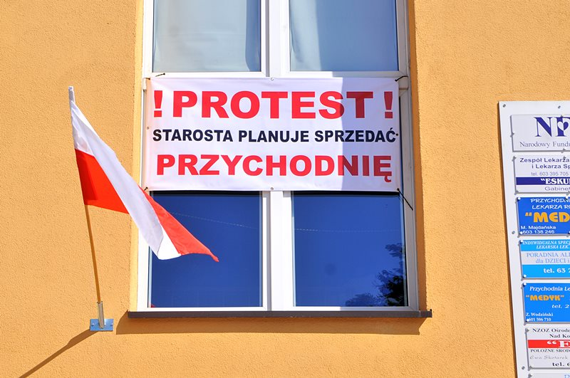 Protestują przeciw