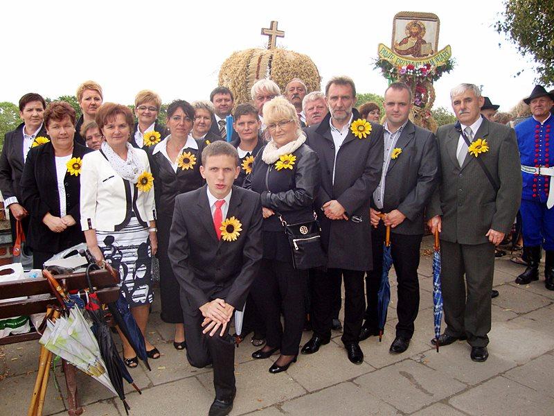 Brudzewska delegacja na dożynkach jasnogórskich