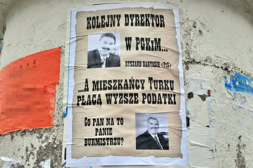 Powiesili burmistrza i dyrektora PGKiM