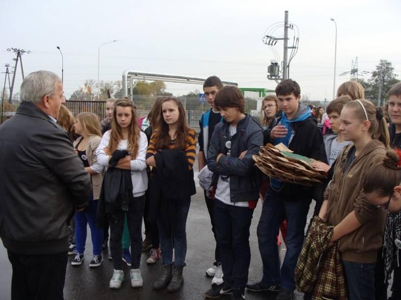 Gimnazjaliści odwiedzili PSZOK