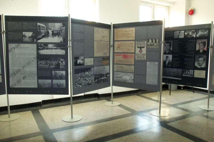 W Gimnazjum nr 2 w Turku kultywowana jest pamięć o stanie wojennym
