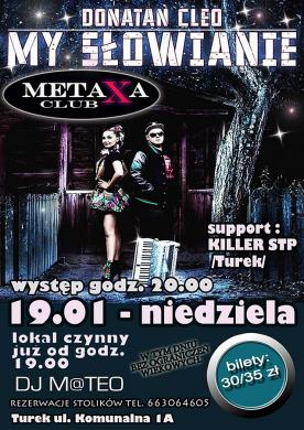 Donatan i Cleo w Clubie Metaxa