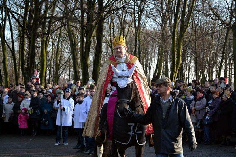 Królowie konno przemierzali Tuliszków
