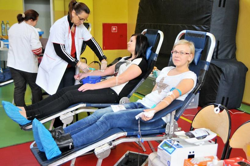 Oddaj krew - uratuj życie! - Foto: M. Derucki