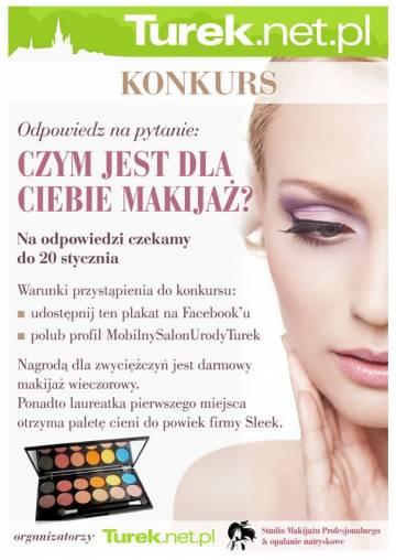 KONKURS: wygraj profesjonalny makijaż wieczorowy!
