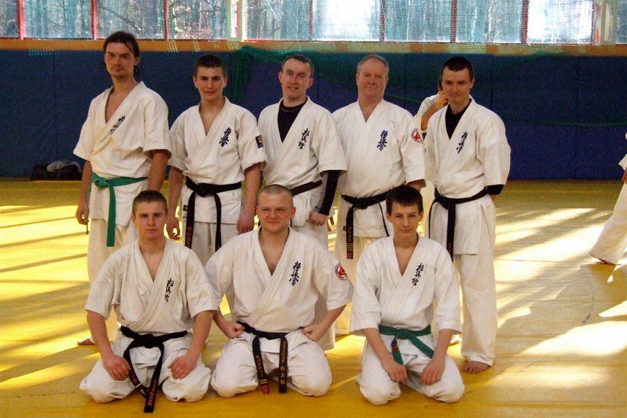 Karate: Zgrupowanie w Wałczu
