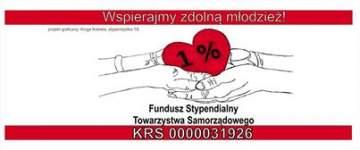 Przekaż swój 1% na Fundusz Stypendialny TS! - Foto: Fundusz Stypendialny Towarzystwa Samorządowego