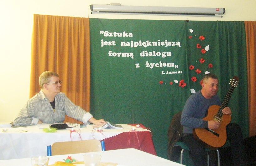 Lech Lament i poezja zapukała  do Wyszyny