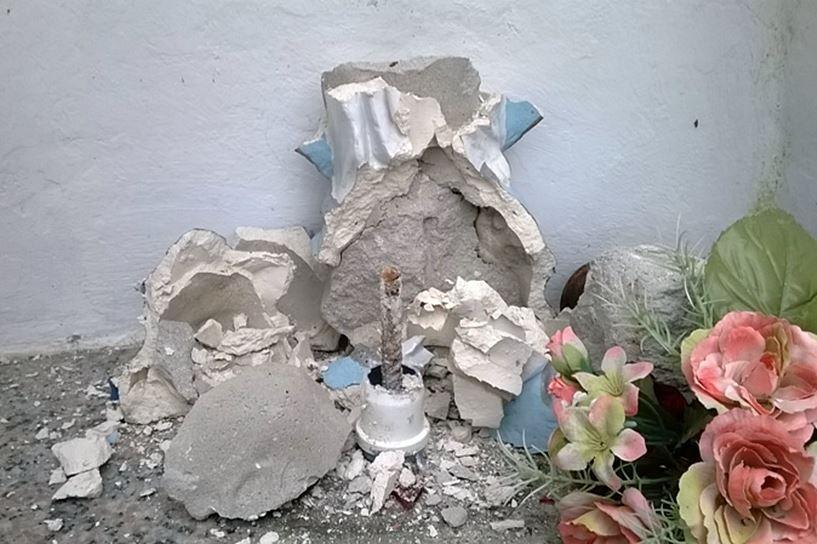 Kapliczkę zniszczyli 15-latkowie