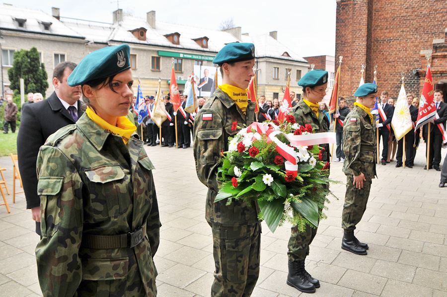 Oddali hołd pomordowanym w Katyniu - foto: M. Derucki