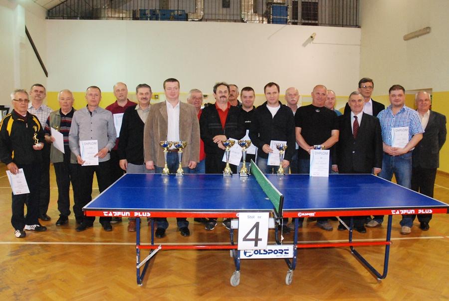 Amatorska Liga Tenisa Stołowego zakończyła kolejny sezon - Foto: ma