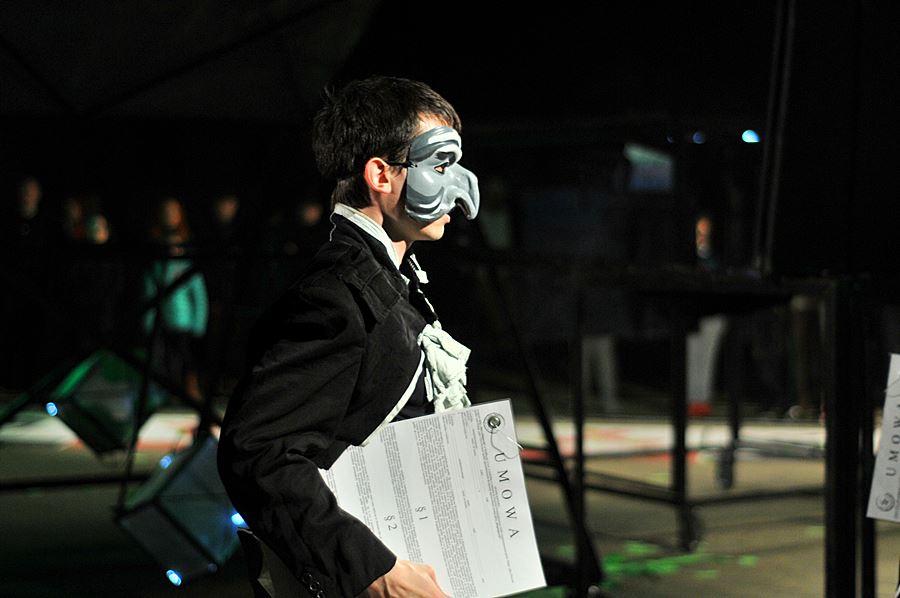 22. przegląd teatrów ulicznych dobiegł końca - foto: M. Derucki